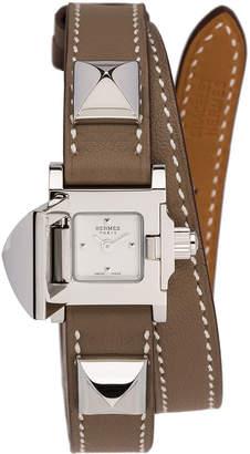 Hermes Medor Mini in Brown | FWRD