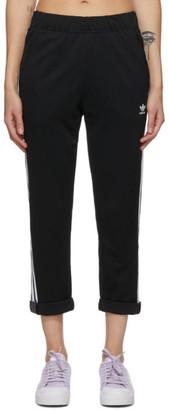 adidas Black Adicolor Boyfriend Track Pants