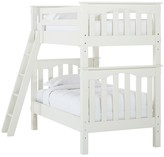 Pottery Barn Kids Kendall Bunk Bed, Simply White