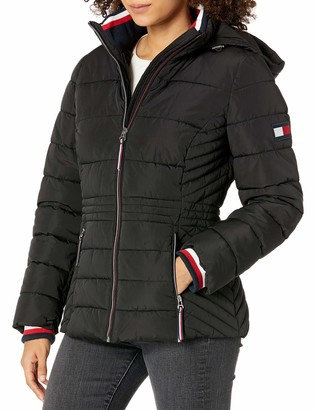 Tommy Hilfiger Women's Short Heritage Puffer