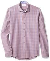 Buttoned Down Men's Slim Fit Spread-Collar Sport Shirt