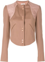Nina Ricci panelled button up jacket