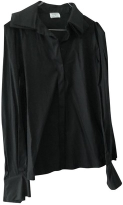 Philosophy di Alberta Ferretti Black Cotton Top for Women