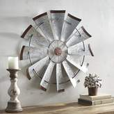 Pier 1 Imports Galvanized Windmill Wall Decor