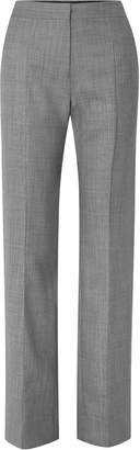 Narciso Rodriguez Melange Wool Straight-leg Pants