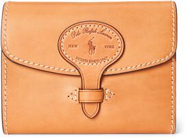 Ralph Lauren Vachetta Leather Compact Wallet
