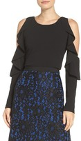 Tracy Reese Women's Cold Shoulder Top