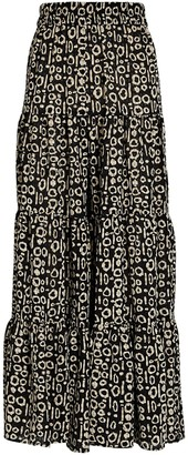 Alexis Farida Tiered Printed Pants