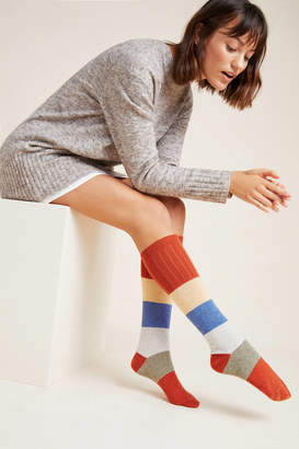 Catherine Tough Colorblocked Knee-High Socks