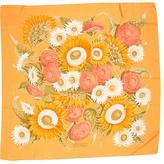Salvatore Ferragamo Floral Print Square Scarf