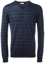 Boglioli striped jumper - men - Silk/Virgin Wool - M