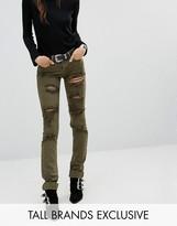 Glamorous Tall Extreme Distressed Skinny Jean