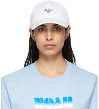 Noah NYC White Winged Foot Cap