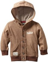 Woolrich Baby-boys Infant Snaps On Hooded Button Up