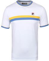 Fila White Stripe Detail Crew Neck T-shirt