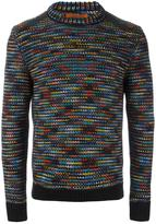 Missoni crew neck jumper - men - Cashmere - 46