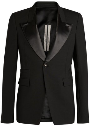Rick Owens Contrast-Detail Jacket