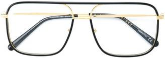 Stella Mccartney Eyewear Aviator Framed Glasses