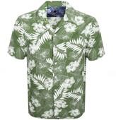 Pretty Green Short Sleeve Floral Shirt Green