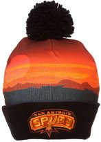 Mitchell & Ness NBA Sublimation Beanie w/ Pom
