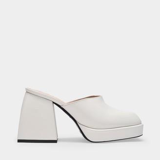 Nodaleto Bulla Geller Mules In White Leather