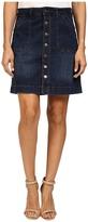 Jag Jeans Petite Petite Florence Skirt Republic Denim in Indigo Steel
