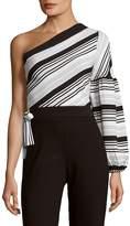Lucca Couture Women's Asymmetrical Cotton Top