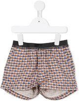 Caramel Borage Boxer shorts - kids - Linen/Flax - 4 yrs