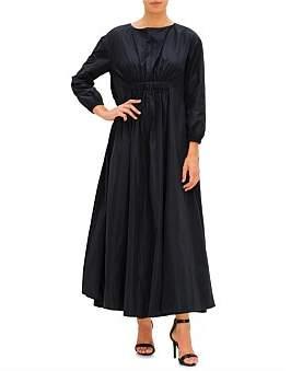 Co Ls Gathered Long Dress