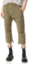 R 13 Ripped Utlity Pants