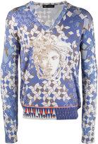 Versace logo sweatshirt - men - Silk - 48