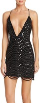 Saylor Sequin Slip Dress