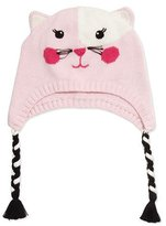 Zubels Knit Cat Hat, Pink