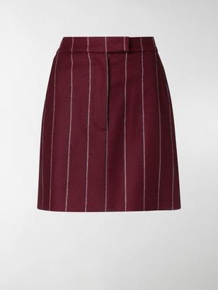 Thom Browne Shadow Stripe mini skirt