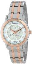 Swarovski Armitron Women's 75/5159MPTR Crystal Accented Two-Tone Bracelet Watch