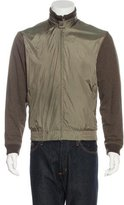 Zegna Sport Two-Tone Harrington Jacket