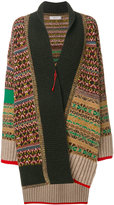 Pringle Fairisle knit coatigan