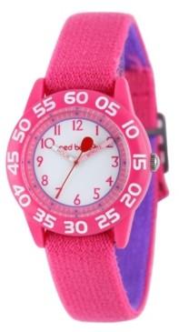 EWatchFactory Red Balloon Girls' Pink Plastic Time Teacher Watch
