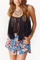 Indah Gamila Crochet Top