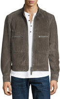 Tom Ford Calfskin Suede Bomber Jacket