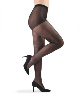 Me Moi Statement Shimmer Sheer Women's Tights