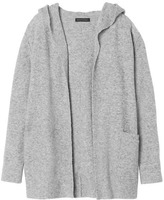 Banana Republic Aire Hooded Open Cardigan