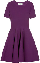 Yves Saint Laurent Stretch wool-blend flared dress