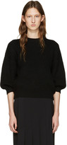 3.1 Phillip Lim Black Crewneck Sweater