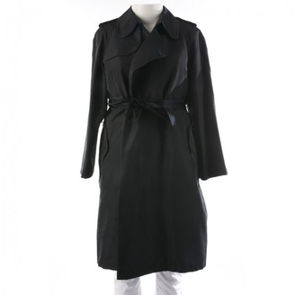 Lanvin Black Trench Coat for Women