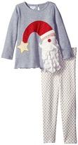 Mud Pie Santa Tunic & Leggings Set (Toddler)