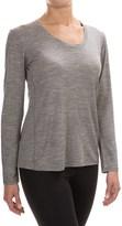 Ibex OD Heather Shirt - Merino Wool, Long Sleeve (For Women)