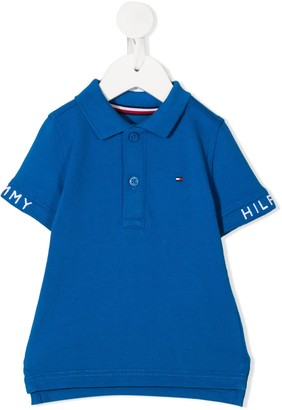 Tommy Hilfiger Junior Embroidered Logo Polo Shirt