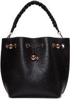 Sophia Webster Black Butterfly Romy Bucket Bag
