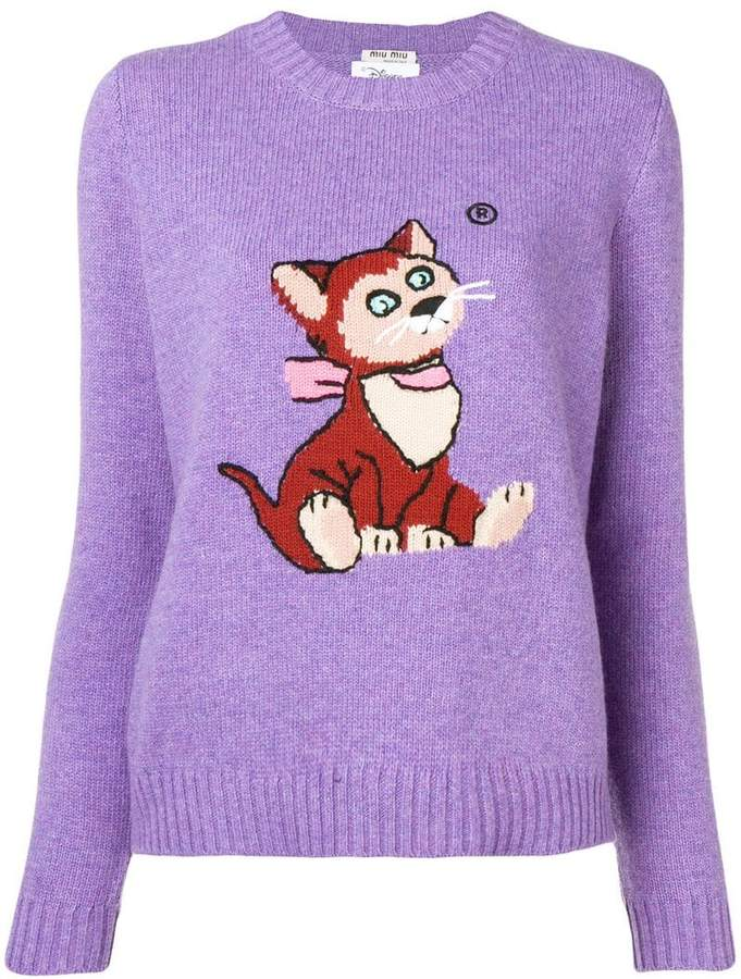 0a7914dd Cat Sweater - ShopStyle UK